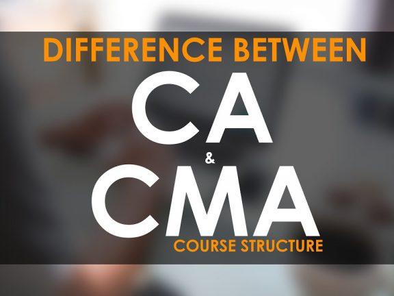 CA Vs CMA