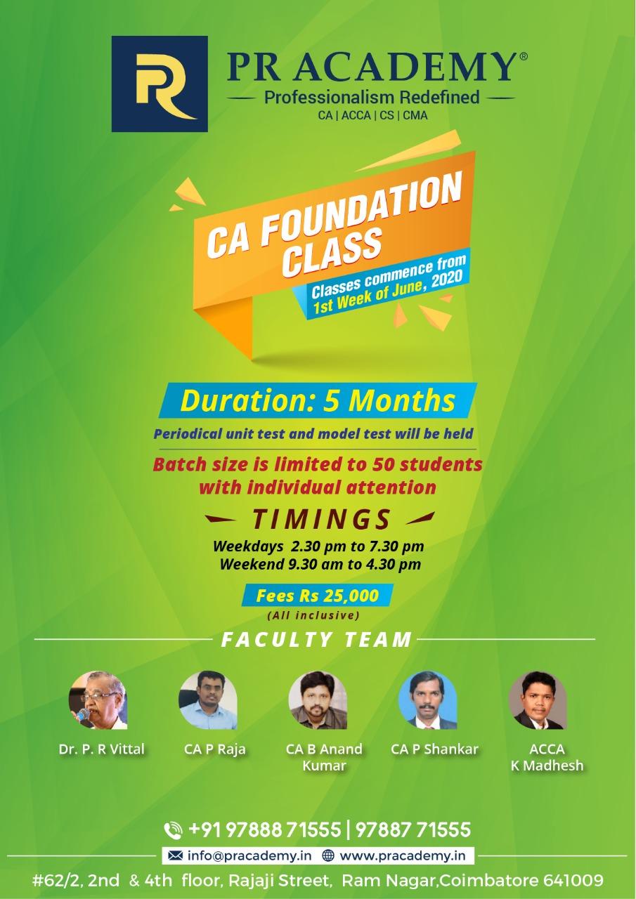 CA-Foundation-Classes-Coimbatore-May2020